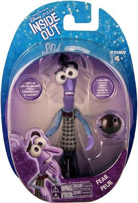 JUGUETES - DISNEY Inside Out | Del reves  Miedo | Figura Muñeco + Esfera de Memoria | Fear  Producto Oficial Película Pixar 2015 | Bizak - Tomy | A partir de 4 años  Comprar en Amazon