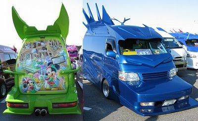Cool: Modifikasi Mini Bus yang Cantik (5 Gambar)