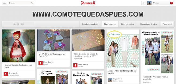 quien pinea imagenes pinterest estadisticas