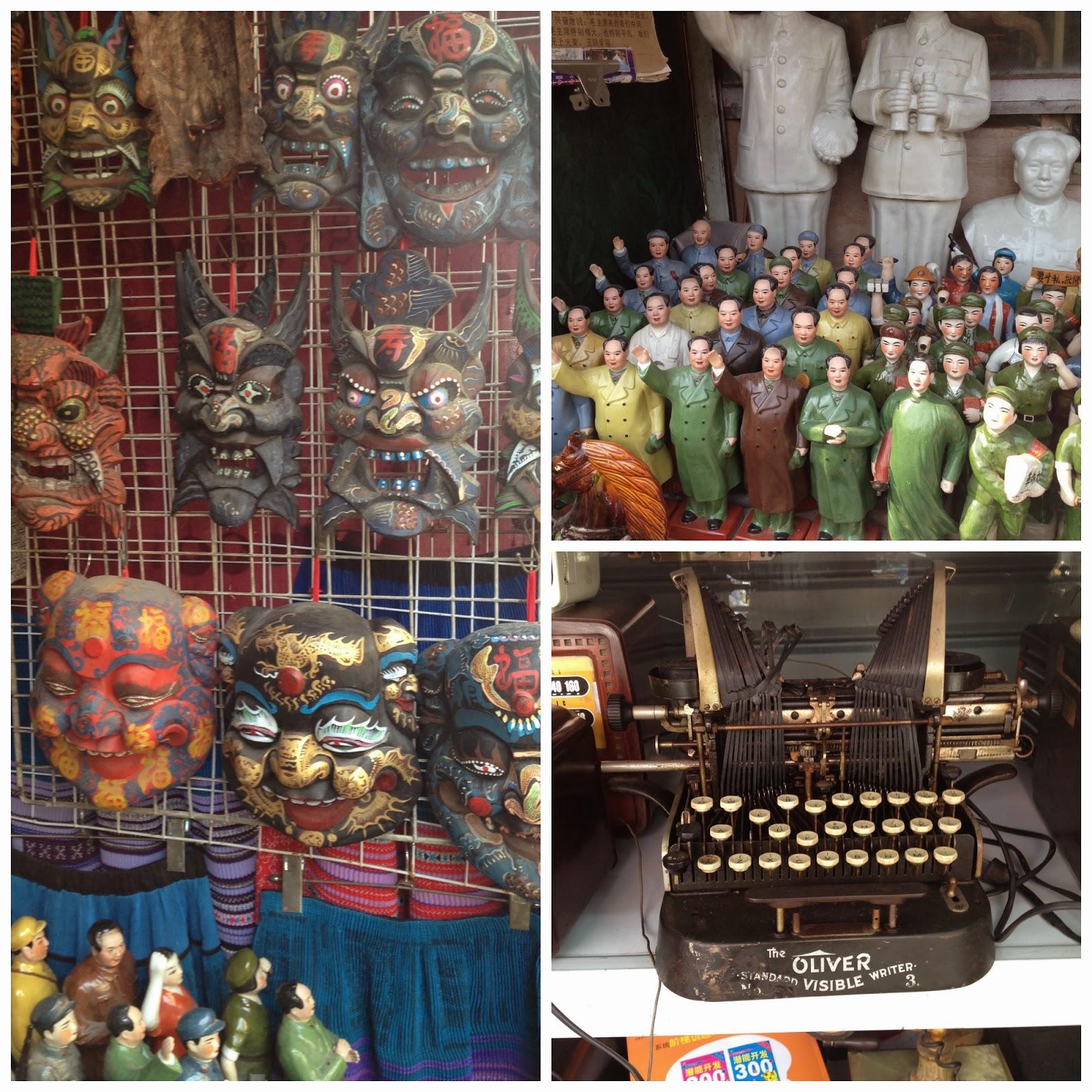 Shanghai : Dongtai Market - marché aux antiquités
