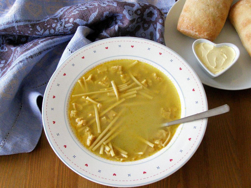 maple•spice: Vegan Chicken Noodle Soup