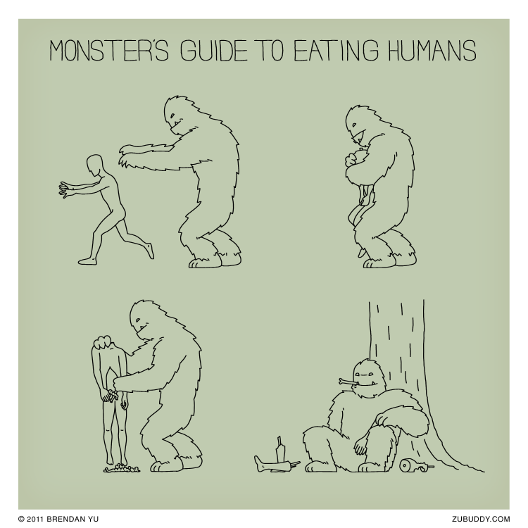 Monster's Guide to Eating Humans