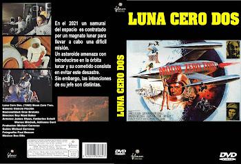 Carátula dvd: Luna Cero Dos (1969) (Moon Zero Two)