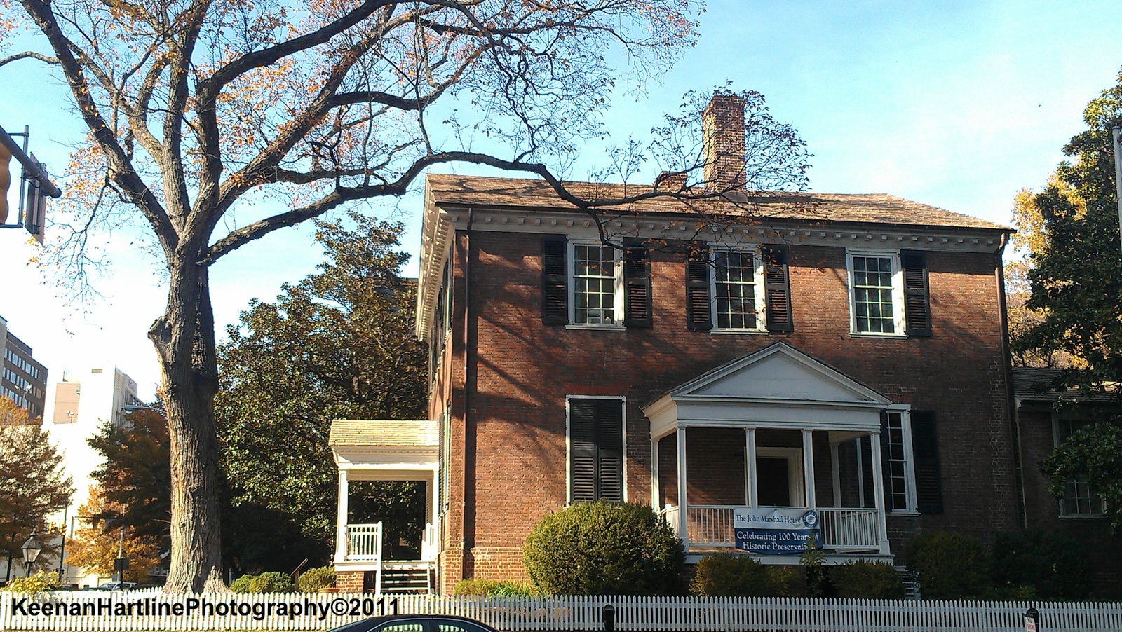 Keenan explores virginia john marshall house richmond for Marshall house
