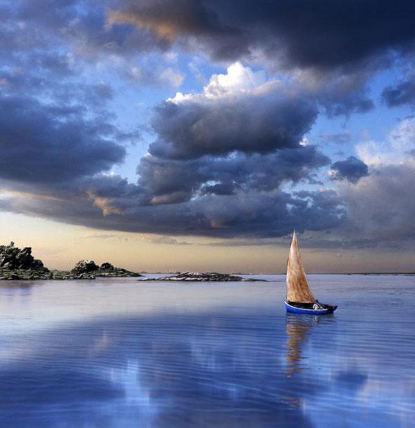 стихотворение вековуша  лодка