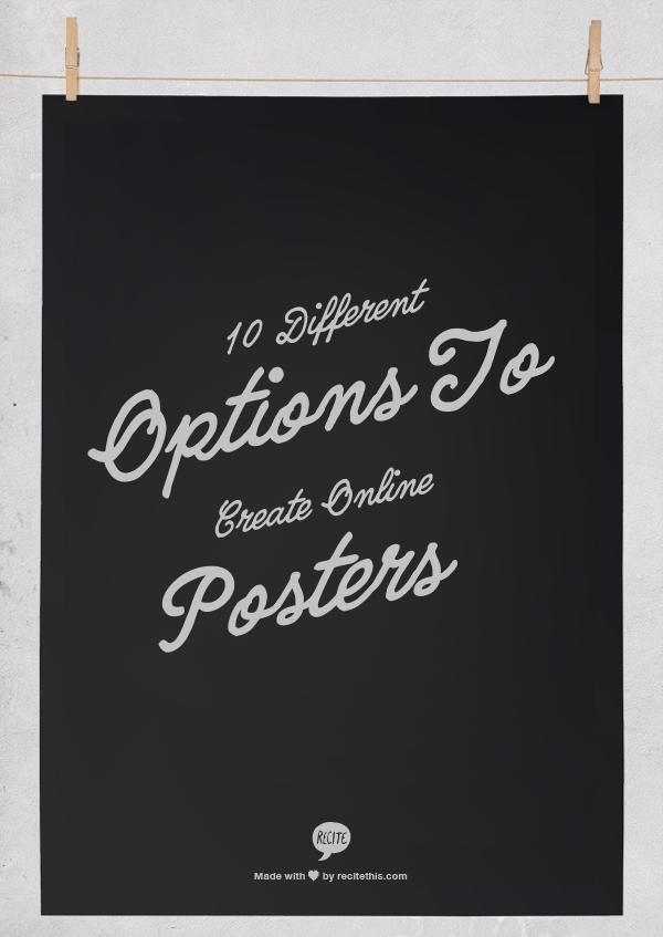 YA Books and More: 10 Different Options to Create Online Posters