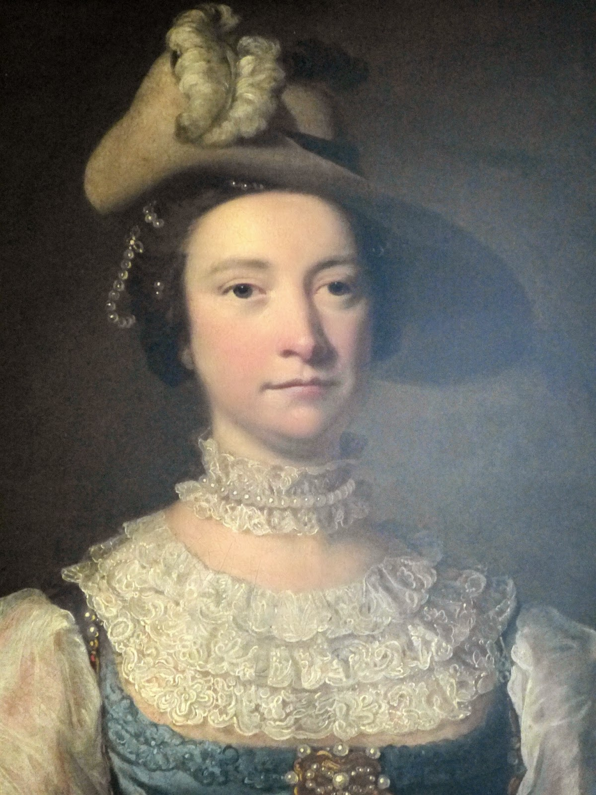 Frances Hort by Thomas Hudson (c1757-60)