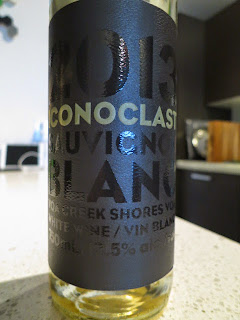 Wine review of 2013 Iconoclast Sauvignon Blanc from VQA Creek Shores, Ontario, Canada