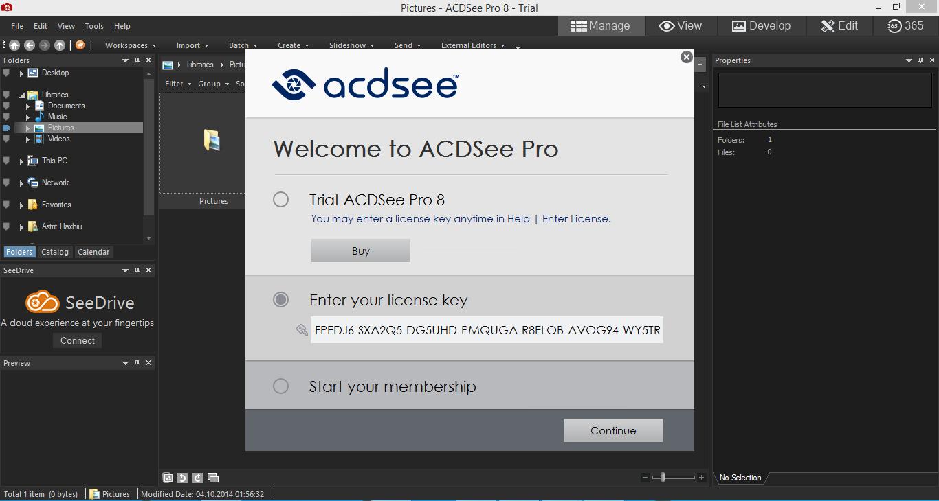 Blog Zombie 6: ACDSee Pro 8 Full Serial Key
