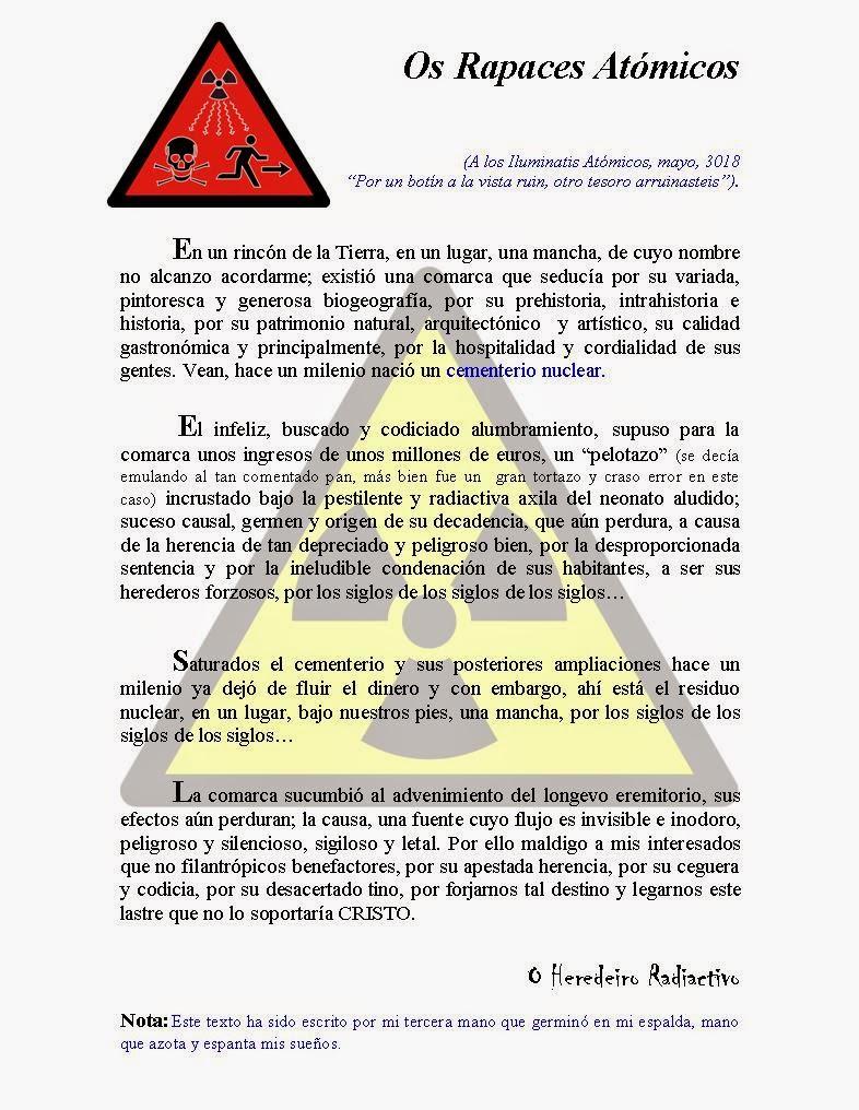 O heredeiro radiactivo
