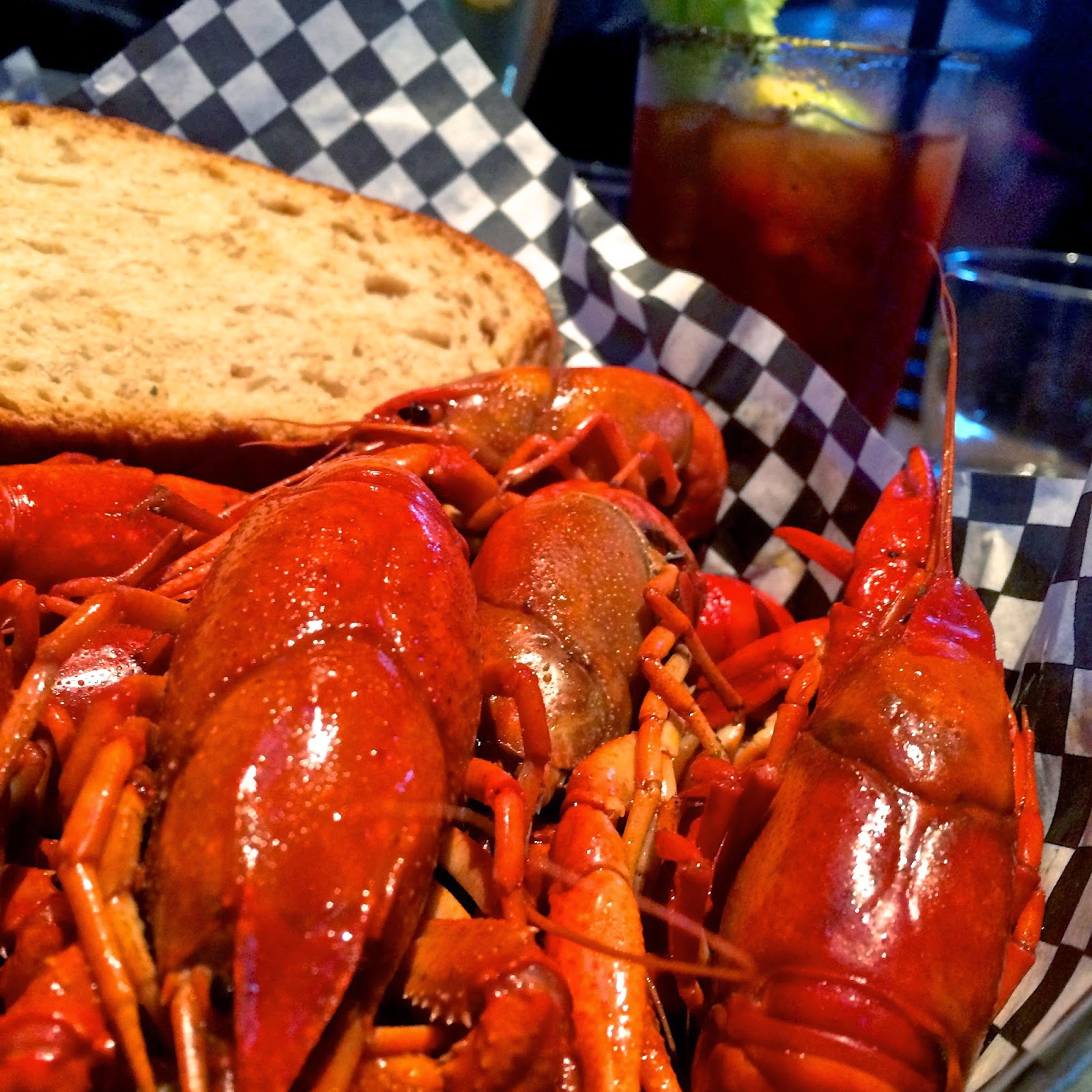 Drunken Crawfish with a Jameson Butter Sauce