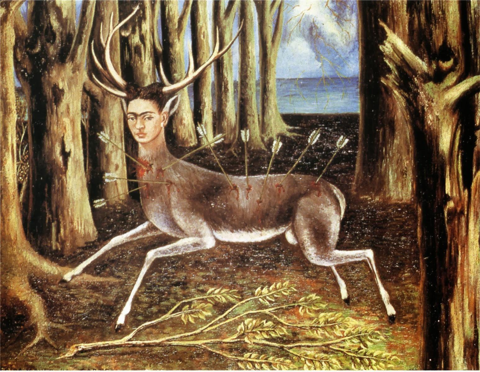 http://2.bp.blogspot.com/-BM1nLQkpUig/UlgrOTgMOUI/AAAAAAAACfg/Ziw2VlTi08E/s3200/Kalho+Frida+-+The+little+deer+-+1946.jpg