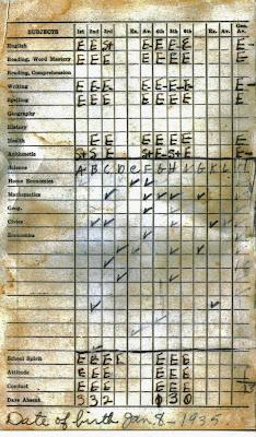 Elvis Presley School Grades 1944