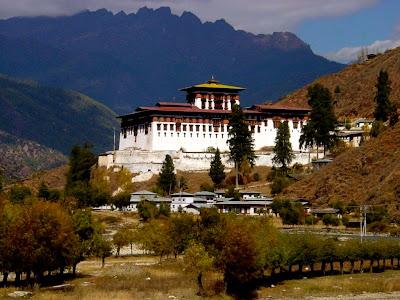 Bhutan monastery