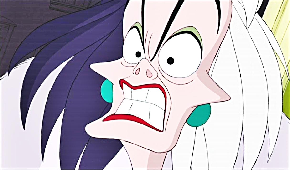 Heme aqu  237  queridos blogsistas  Cruella Deville Car Disney