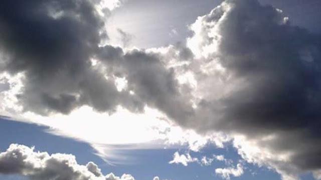 Ο καιρός της ημέρας για να μην πέσει ο ουρανός στο κεφάλι μας ξαφνικά...!