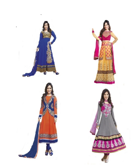 Designer Anarkali Suits Lowest Online Price