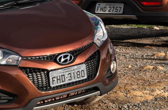 Novo Hyundai HB20 X 2014 - frente