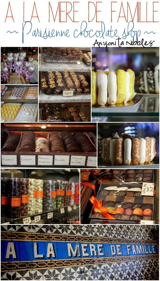 A la Mere de Famille Parisienne chocolate shop by Anyonita Nibbles