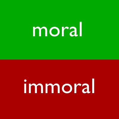 groups are more immoral than individuals Atheists: most mistrusted group, evil, and immoral guess who's coming to dinner: oh no, not an atheist posted aug 21, 2009.