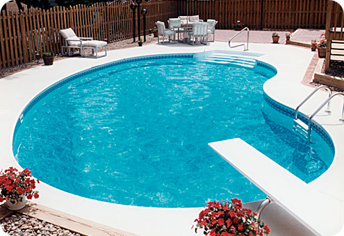 Swimming Pool Pictures on Pool  A Small Body Of Standing Water  Pond