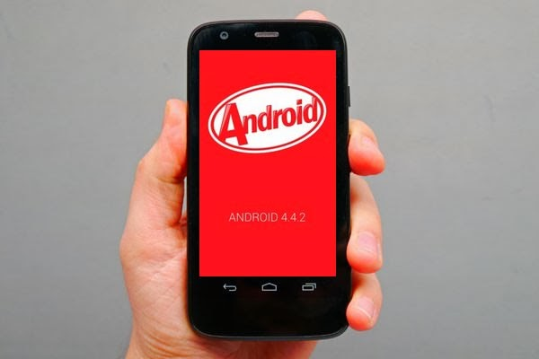 Update Moto G to Kitkat 4.4.2