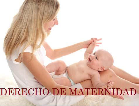 DERECHO DE MATERNIDAD