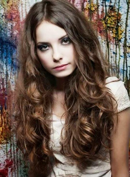 Model rambut Panjang Ikal 2015 Trend Terbaru
