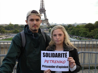 Paris in Solidarity with Moldovan Political Prisoners