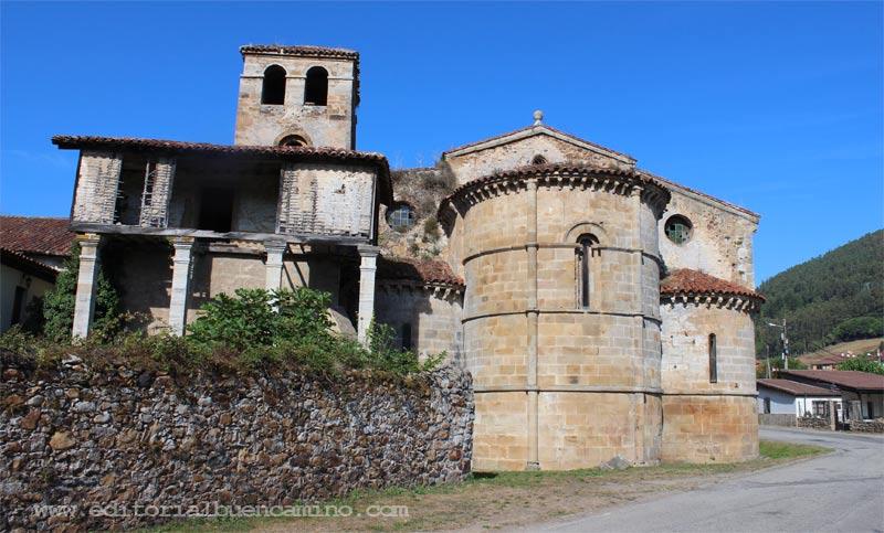 Monasterio e Iglesia de San Salvador de Cornellana (Salas - Asturias).
