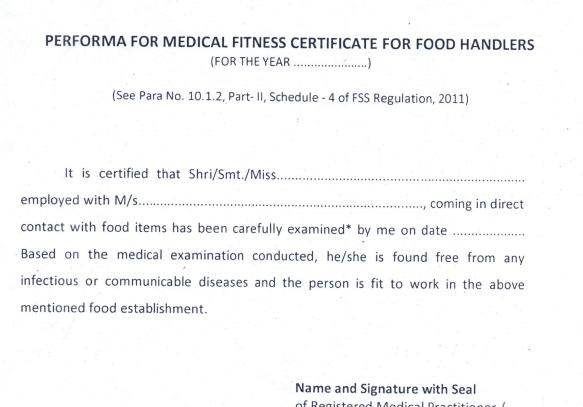 fit to work medical certificate sample