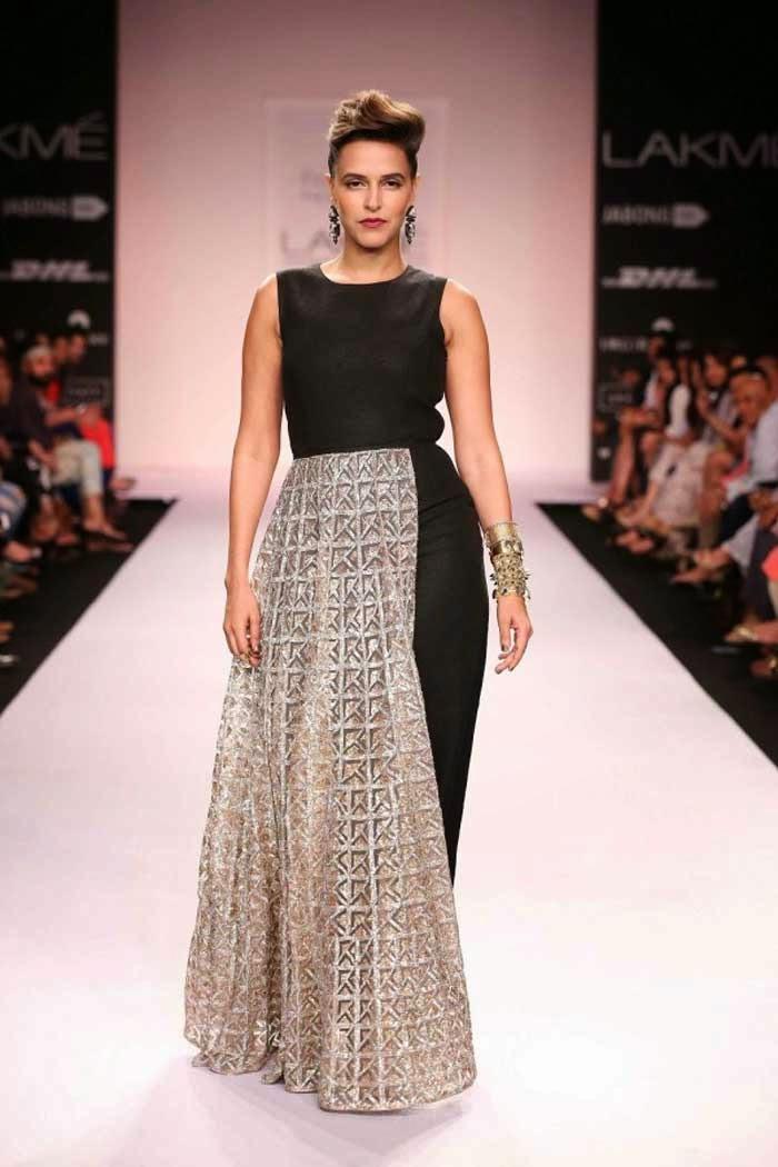 Neha Dhupia at Lakme Fashion Week Summer/Resort 2014
