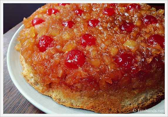 Pineapple Upside Down Cake Pieces