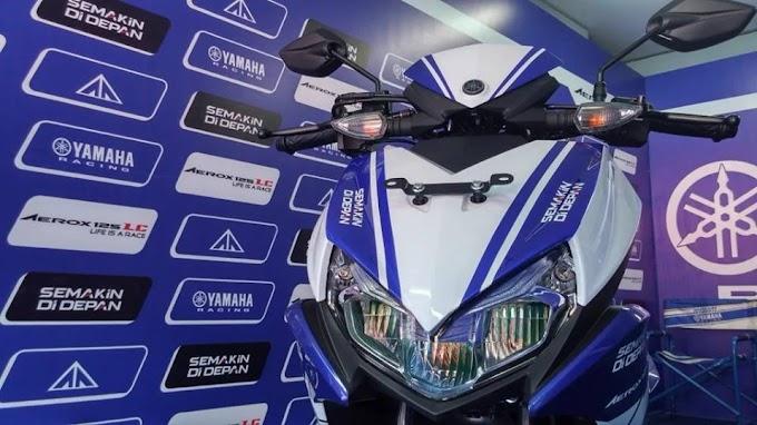 Beli Yamaha Aerox 125 LC Bisa Dapat Pit Shirt Movistar Yamaha MotoGP