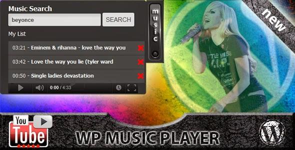 WordPress - WP Video Music Box