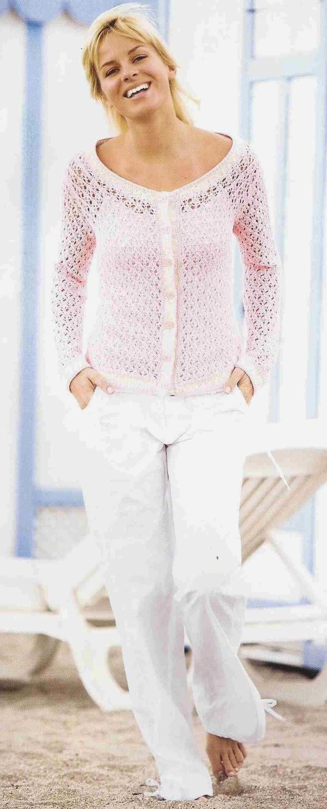 Blusa a Crochet o Ganchillo