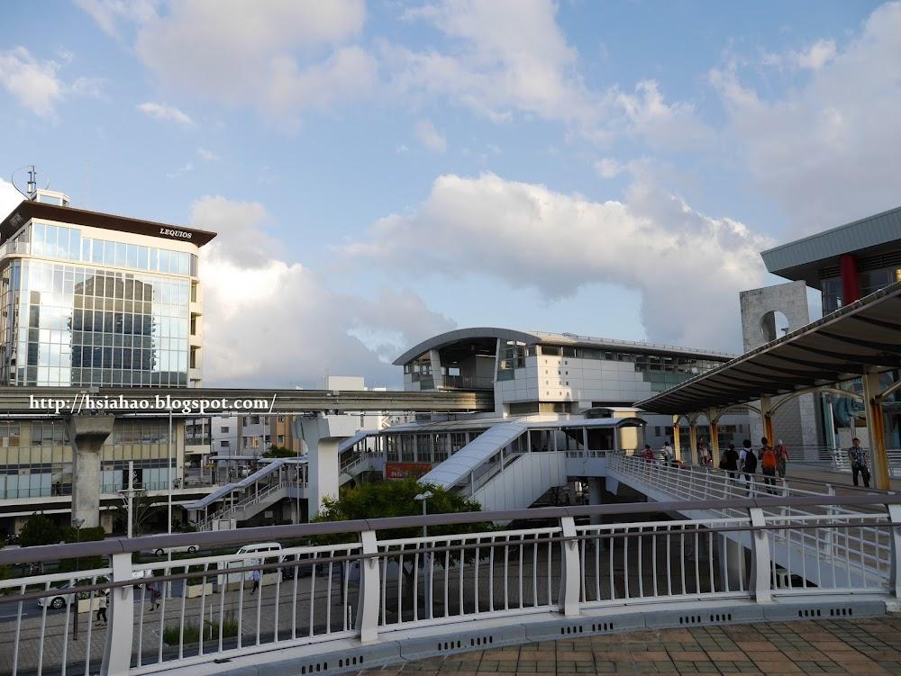沖繩-交通-單軌電車-那霸-新都心-電車站-おもろまち駅-Okinawa-yui-rail- transport-train