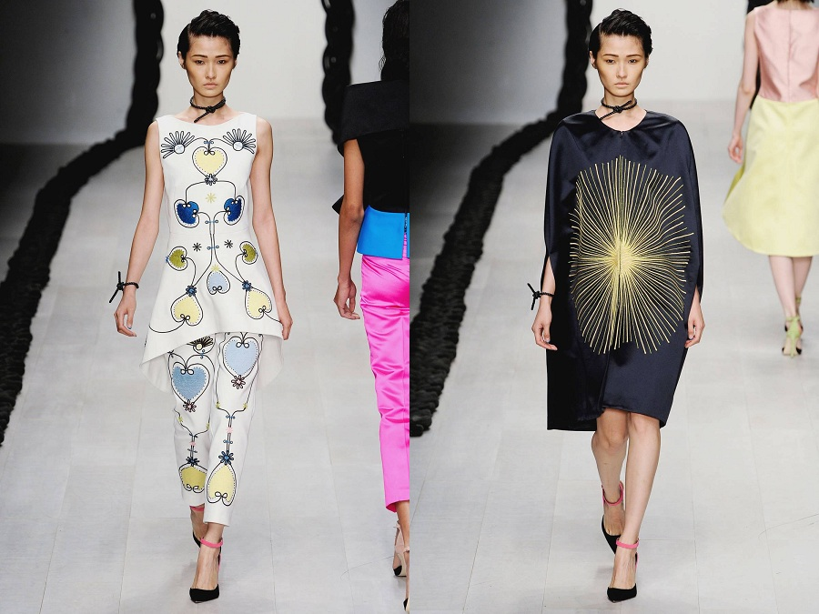 Asian models blog london fashion week spring summer 2013 for Koch xiao wang