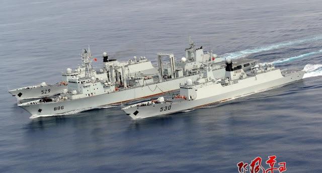 Άμεση εμπλοκή της Κίνας στην κρίση – Έστειλε πολεμικά στις ακτές της Συρίας