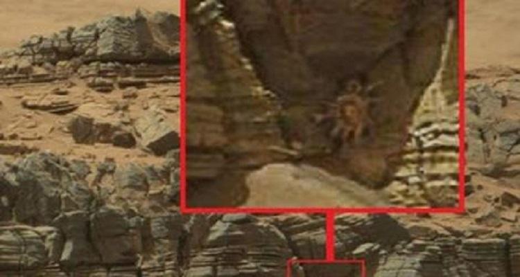الناسا تلتقط صورة تأخذ الأنفاس من كوكب المريخ