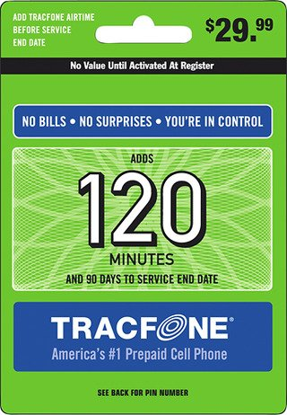 Tracfone promo codes 120 unit card
