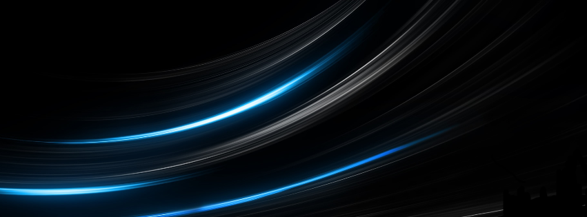 Best Facebook Cover: Bending Light Lines-facebook-cover