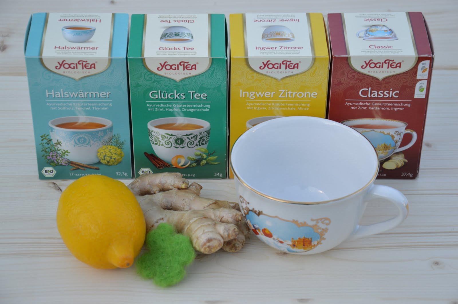 Gewinnt ein tolles Teeset mit original YOGI TEA Tasse