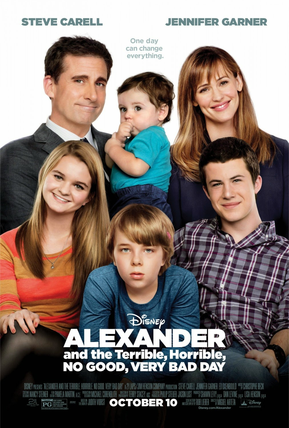 Alexander And The Terrible Horrible No Good Very Bad Day (2014) tainies online oipeirates