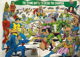 Raj Comics, Old Comics Promotion