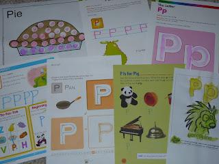 letter p worksheets
