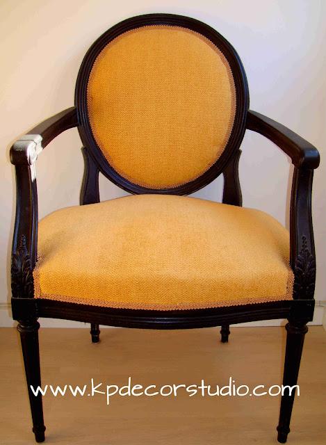 Comprar silla vintage. Butaca antigua. Sillón Luis XVI