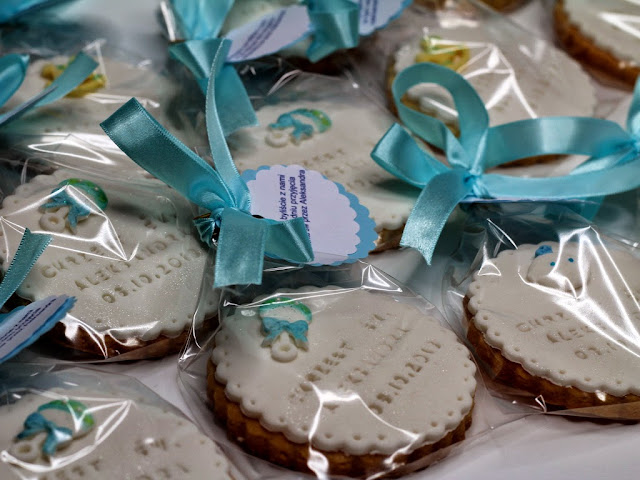Christening Cookies in London - Gourmet Cookies
