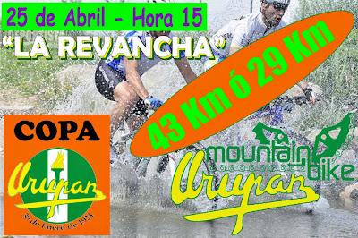 MTB - Urupan La revancha (Pando, 25/abr/2015)