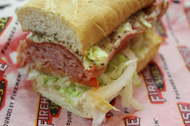 The Italian at Firehouse Subs, Boston, Mass.
